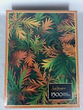 1985 Milton Bradley Jig Saw Puzzle Just Imagine Burst of Autumn 1500 pc Sealed