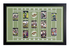 Football Display Board: Trading Card Sports Field Frame 17x27