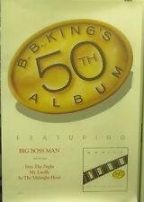 B.B. King - SIX SILVER STRINGS  - Vintage Promo Poster [1985]