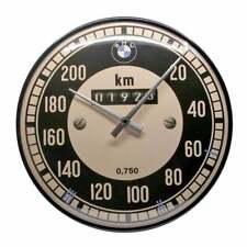 Nostalgic Art Wall Clock BMW Retro Speedometer