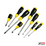 Stanley 065011 Cushion Grip Screwdriver Set 8 Piece Slotted Phillips