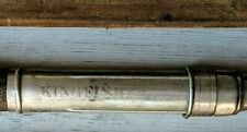 Antique Kingfisher Fishing Pole With Original Case - 8 1/2' Long (Has 2 end pcs)