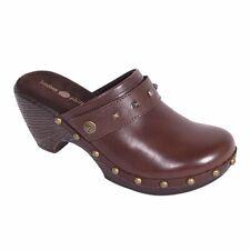 Lindsay Phillips Switchflops Karin Clog - Brown Strap Shoes, Size 8