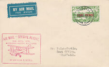 New Zealand 61 - 1932 SPECIAL FLIGHT COVER RUSSELL to WHANGAREI