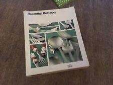 Rosenthal Berlin Besteck Besteckset Versilbert H. Th. Baumann 6 Personen Vintage