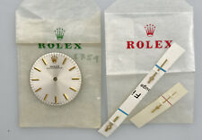 Rolex original silvered dial for O.P. 31mm 6751 new old stock with hands  126