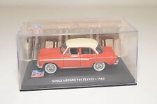 . ALTAYA IXO SIMCA ARONDE P60 ELYSEE 1960 RED CREAM MINT BOXED