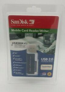 SanDisk Mobile Card Reader/Writer, USB 2.0 (SDDR-103-A10M) (NEW!)