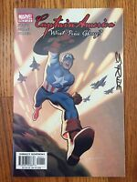 Marvel Comics CAPTAIN AMERICA: WHAT PRICE GLORY? #1 NM Signed By STEVE RUDE 2003