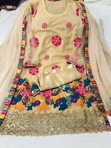 Indian Pakistani Salwar Kameez suit,sari, Anarkali dress