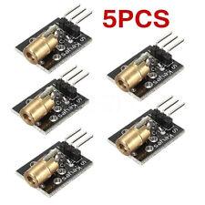 5PCS KY-008 3pin 650nm 5V Laser Transmitter Sensor Module for Arduino AVR PIC FS