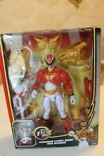 Power Rangers Samurai New Armored Ultra Mode Red Ranger w/weapon
