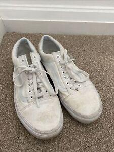 Vans White Trainer Size 6