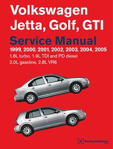Volkswagen VW 1999 - 2005 Jetta Golf GTI Service Repair Manual VR6 only