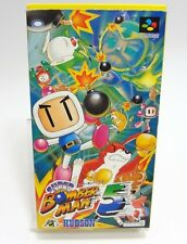 SNES SUPER BOMBERMAN 5 BOXED SUPER FAMICOM NINTENDO JAPAN IMPORT