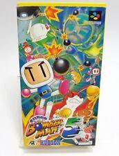 SNES SUPER BOMBERMAN 5 BOXED SUPER FAMICOM NINTENDO JAPAN IMPORT