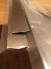 Stainless steel flat strip 20mm x 1.5mm x 500mm 304 Dull Polish free postage