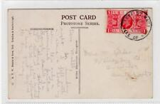 Picture postcard with PORT ST. MARY ISLE OF MAN skeleton postmark (C30191)