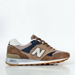 Mens Size 8.5 New Balance 577SDS Made in UK Brown