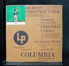 Charles Dickens - Christmas Carol LP VG ML 4081 Mono CBS 1949 Vinyl USA RARE