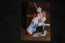 CRAIG ANDERSON 2011-12 UD BLACK DIAMOND SIGNED AUTOGRAPHED CARD #8 SENATORS