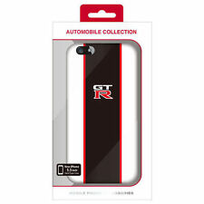 NISSAN Gt-r stripe Back Case iPhone 6 plus/6s plus Noir/Blanc