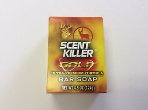 Scent Killer GOLD Ultra -Premium Bar Soap,New In Package,EXP:July 2020
