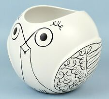 "*NEW* Kate Spade New York ""Woodland Park"" 6 in. Round Owl Vase - Off-White *NIB*"