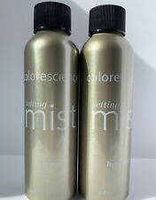 Colorescience Hydrating Makeup Setting Mist 2 Pack Help Dry Flaky Skin and BONUS