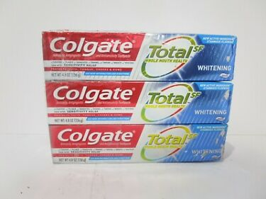 Colgate Total Whitening Toothpaste  48 ounce 3 Pack READ MORE FREE SHIP