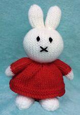 KNITTING PATTERN - Miffy inspired choc orange cover / 20 cms bunny toy
