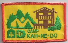 Girl Guide Patch - Camp Kah-Ne-Do Girl Guide Patch - Parkhill, Ontario, Canada