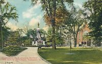 ROCHESTER NY – Washington Park showing Soldiers and Sailors Monument - 1918