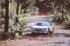 Attilio Bettega MARTINI LANCIA 037 RALLY NEW ZEALAND RALLY 1983 fotografia 2