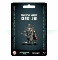 Chaos Space Marines Chaos Lord - Warhammer 40k - Brand New! 43-62C