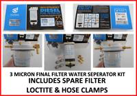 P903316 DONALDSON 3 MICRON WATER SEPARATOR KIT INC SPARE FILTER & MORE