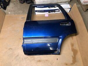 97-01 Honda CR-V Crv 2.0L Rear Passenger door shell Blue Stripped 2077