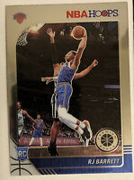 2019-20 NBA Hoops Premium Stock RJ BARRETT RC Base Rookie  # 201 WELL-CENTERED!!