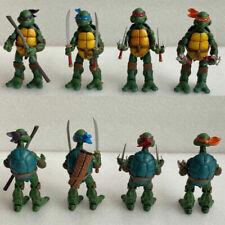 4 PCS NECA TMNT Teenage Mutant Ninja Turtles Color Headband Action Figures Toys