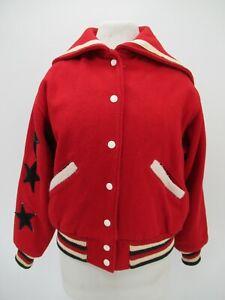 M8217 VTG Butwin Women's Wool Varsity School Jacket Size M