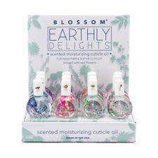 Blossom Earthly Delight Cuticle Oil Infused w/ Real Flowers 1 oz- 4 scent