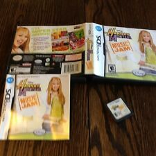 Hannah Montana: Music Jam (Nintendo DS, 2007) Used Free US Shipping
