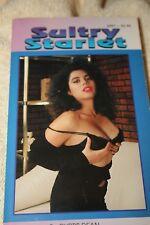 vintage sleaze  paperback book SULTRY STARLET 1980  SLEAZE GGA