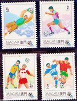 Macau 1994 * World Football Cup * Stamp set of 4 MNH