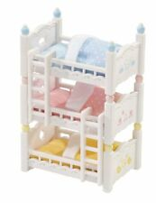 Calico Critters Triple Baby Bunk Beds , New, Free Shipping