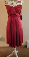 Zac Posen Strapless Silk Beaded Dress Size 4 NWT 2790.00
