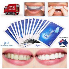 Brand New White Gel Teeth Whitening Strips 28Pcs/14Pair 3D Oral Hygiene Care