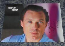 MARTIN KEMP -SPANDAU BALLET / THE KRAYS -12x8 MAGAZINE  PHOTO  SIGNED. (2)