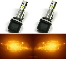 LED 30W 880 H27 Orange Amber Two Bulbs Fog Light Replacement Upgrade Lamp