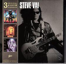 NEW 3CD BOX SET // Steve Vai // PASSION & WARFARE+SEX & RELIGION+ALIEN LOVE SEC
